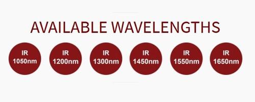 Metaphase Technologies SWIR LED Illumination Dome Light Wave Length options