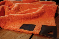 Microfiber Orange Grooming Towel