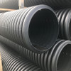 Close up of 300mm perforated pipe.