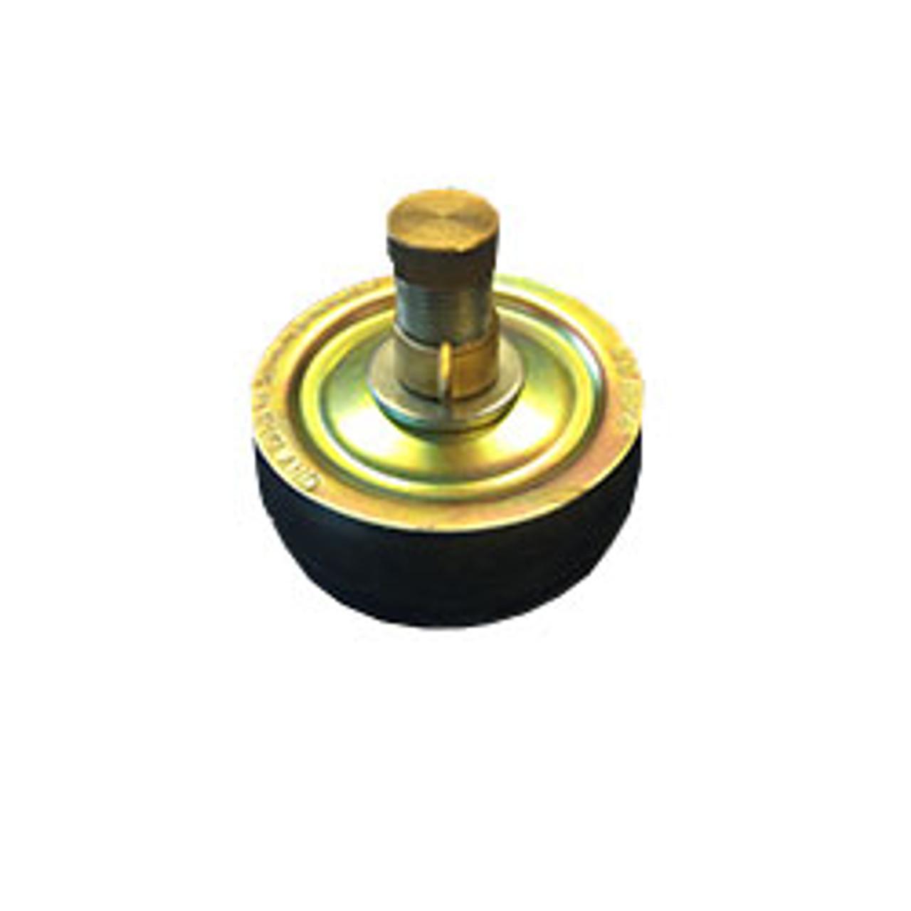 """4"""" steel drain test plug"""
