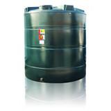 9,400 litre Atlas Bunded Vertical Oil Tank.