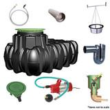 1,500 litre GRAF Platin Garden-Comfort Rainwater Harvesting System.