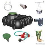 5,000 litre GRAF Platin Garden-Comfort Rainwater Harvesting System.