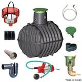 2,700 litre GRAF Carat-S Garden-Comfort Rainwater Harvesting System.
