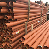 6m 110mm sewer pipe in pallet