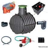 GRAF Carat-S House Indirect Rainwater Harvesting Package.