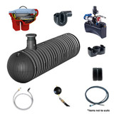 GRAF Carat-XXL House ECO-Plus Rainwater Harvesting Package.