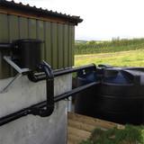 Example of an Enduramaxx Rainwater Harvesting Kit B in use.