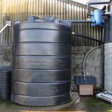Example of an Enduramaxx Rainwater Harvesting Kit C in use.