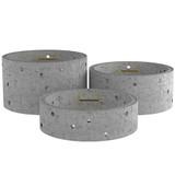 2400mm Concrete Soakaway Chamber Ring - Double Step Range.
