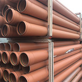Pallet of 3m 160mm sewer pipe