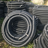 Coil of 60mm land drain.