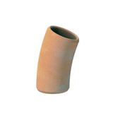 22.5dg Densleeve Plain End Clay Pipe Bend.