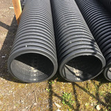 225mm unperforated twinwall pipe- end
