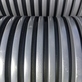 600mm solid twinwall close up corrugations