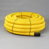50/63mm Twinwall Yellow Gas Ducting (50m Coil)