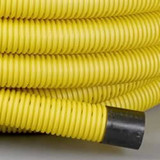 60mm Perforated Yellow Gas Ducting (50m Coil)