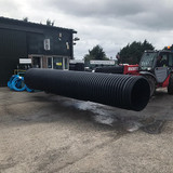 900mm Non-BBA Unperforated Twinwall x 6m