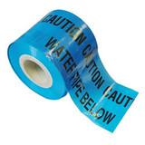 Blue Water Warning Marker Tape