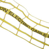 Yellow Electric Warning Marker Detectamesh