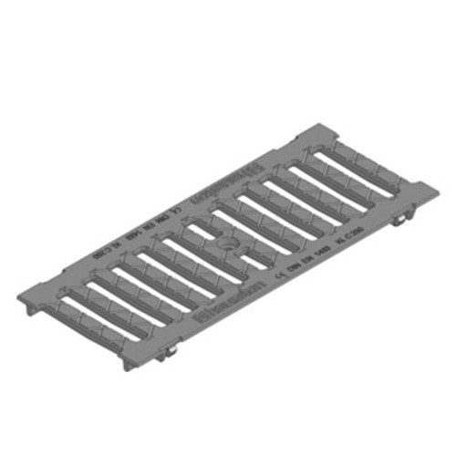 Slotted ductile iron grating for FASERFIX KS150. C250 loading.