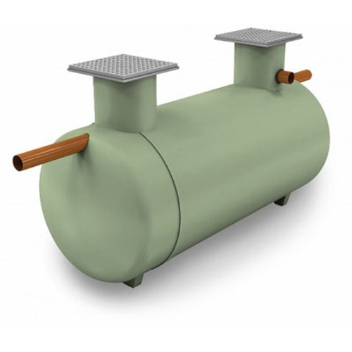 10,000 litre Clearwater Large Shallow Dig Septic Tank.