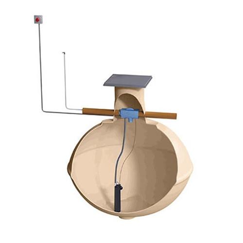 4,600ltr Klargester Raintrap c/w pump.