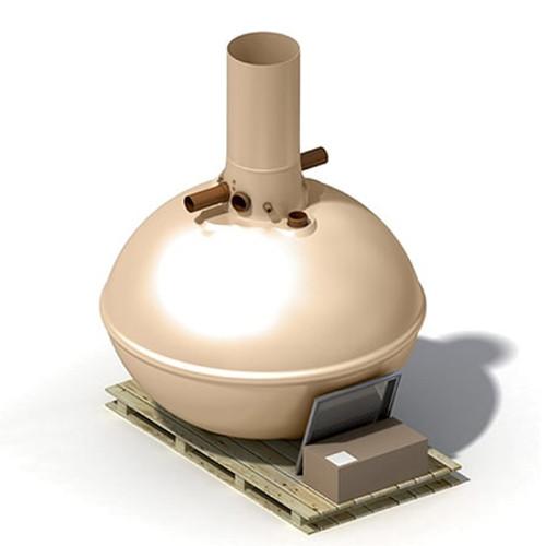 4,600 litre Klargester Aquabank Rainwater Harvester.