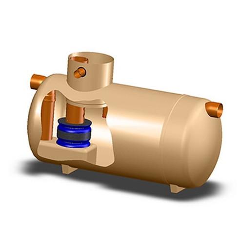 4445m2 Klargester Full Retention Separator.