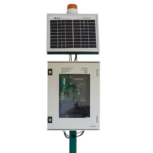 Solar Powered Separator Alarm.
