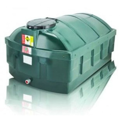 1,200 litre Atlas Bunded Low Profile Oil Tank.