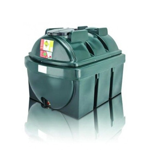 Atlas 1,300 litre Bunded Horizontal Oil Tank.