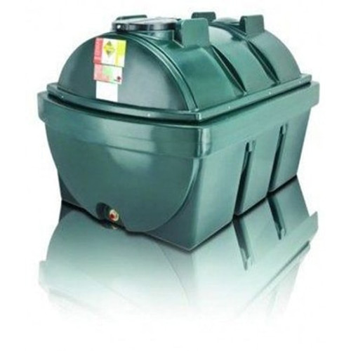 Atlas 1,900 litre Bunded Horizontal Oil Tank.
