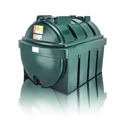 2,500 litre Atlas Bunded Horizontal Oil Tank.