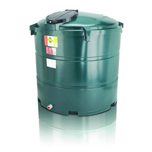 1,300 litre Atlas Bunded Vertical Oil Tank.
