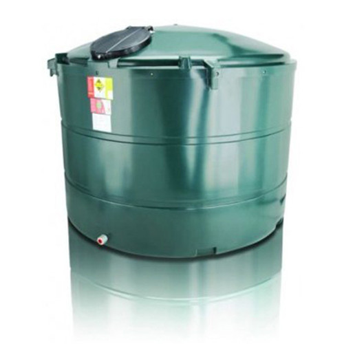 3,500 litre Atlas Bunded Vertical Oil Tank.