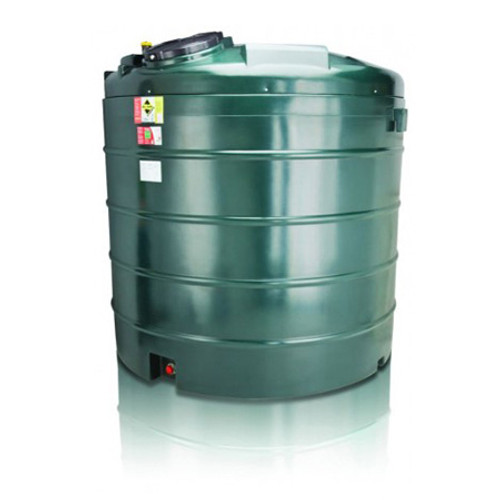 5,000 litre Atlas Bunded Vertical Oil Tank.