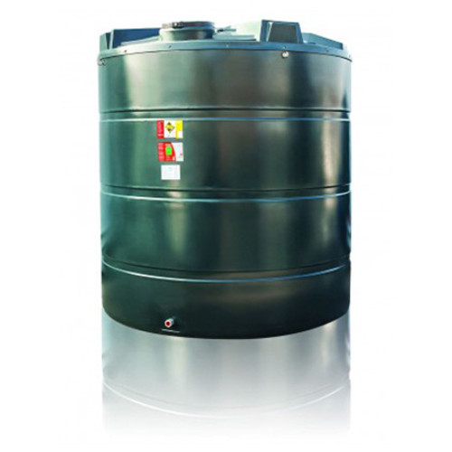 9,400 litre Atlas Bunded Vertical Oil Tank.