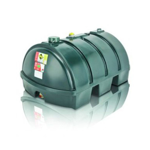 1,225 litre Atlas Single Skin Low Profile Oil Tank.
