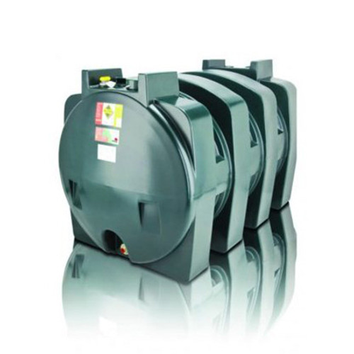 2,400 litre Atlas Single Skin Horizontal Oil Tank.