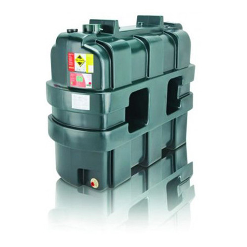 1,150 litre Atlas Single Skin Slimline Oil Tank.
