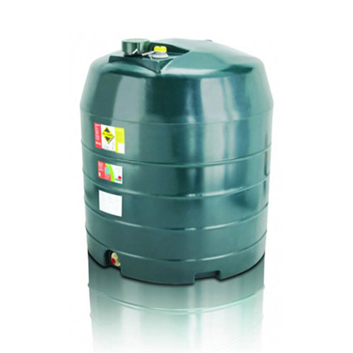 1,360 litre Atlas Single Skin Vertical Oil Tank.