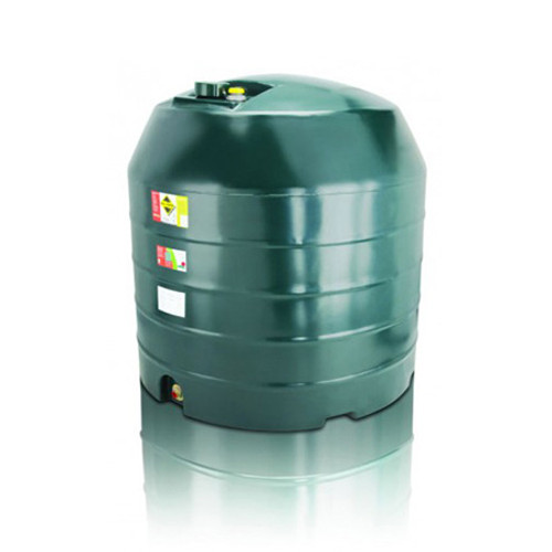 2,500 litre Atlas Single Skin Vertical Oil Tank.