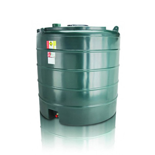 5,000 litre Atlas Single Skin Vertical Oil Tank.