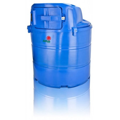 1,340 litre Atlas Bunded Adblue Storage & Dispensing Tank.
