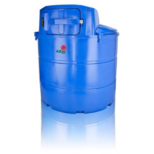 2,300 litre Atlas Bunded Adblue Storage and Dispensing Tank.