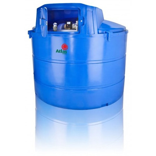 5,000 litre Atlas Bunded Adblue Storage and Dispensing Tank.