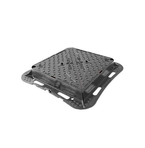 675mm x 675mm Ductile Iron D400 WREKiN Highway Access Cover.