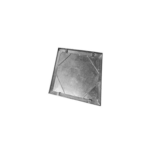 300mm x 300mm Galvanised 10tn Double Seal WREKiN 40mm Recessed Tray Access Cover.