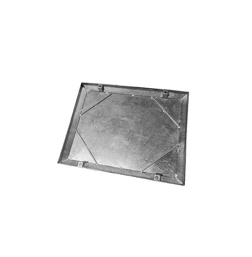 600mm x 450mm Galvanised 10tn Double Seal WREKiN 40mm Recessed Tray Access Cover.